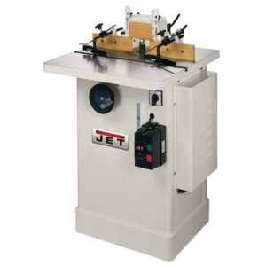708322 Jet JWS-25CS Shaper, 3HP 1PH 230V Only,  1/2″and 3/4″ Spindles, 25″X25″ Table