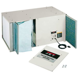 708615 JET AFS-2000 1700CFM AIR FILTRATION SYSTEM, 3-SPEED, WITH REMOTE CONTROL (WOODWORKING)