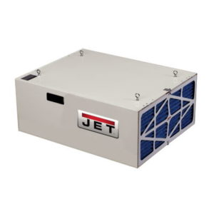 708620B JET AFS-1000B, 1000 CFM AIR FILTRATION SYSTEM, 3-SPEED, WITH REMOTE CONTROL