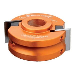 CMT 692.100.26 Universal Shaper Cutter Head, 4-Inch Diameter, 1-Inch Bore