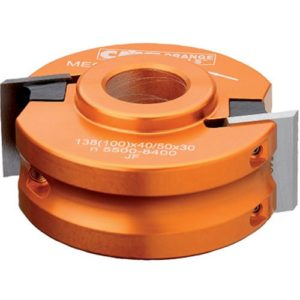 CMT 692.078.19 Universal Shaper Cutter Head, 3-1/8-Inch Diameter, 3/4-Inch Bore