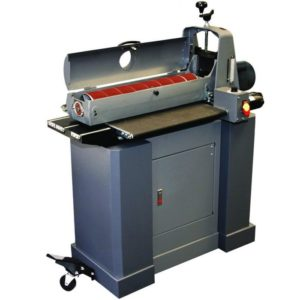 SUPMX-72550, SUPERMAX 25-50 DRUM SANDER WITH CLOSED STAND, W/ BUILT IN CASTERS, 110V, 1-3/4HP