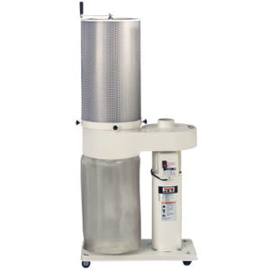 708642CK Jet DC-650 Dust Collector with 2 Micron Canister Filter, 1HP, 115/230V