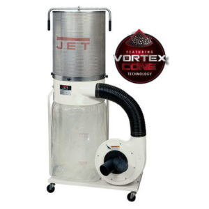 708659K Jet DC-1100VX-CK Dust Collector with 2 Micron Canister Kit, 1.5HP, 115/230V